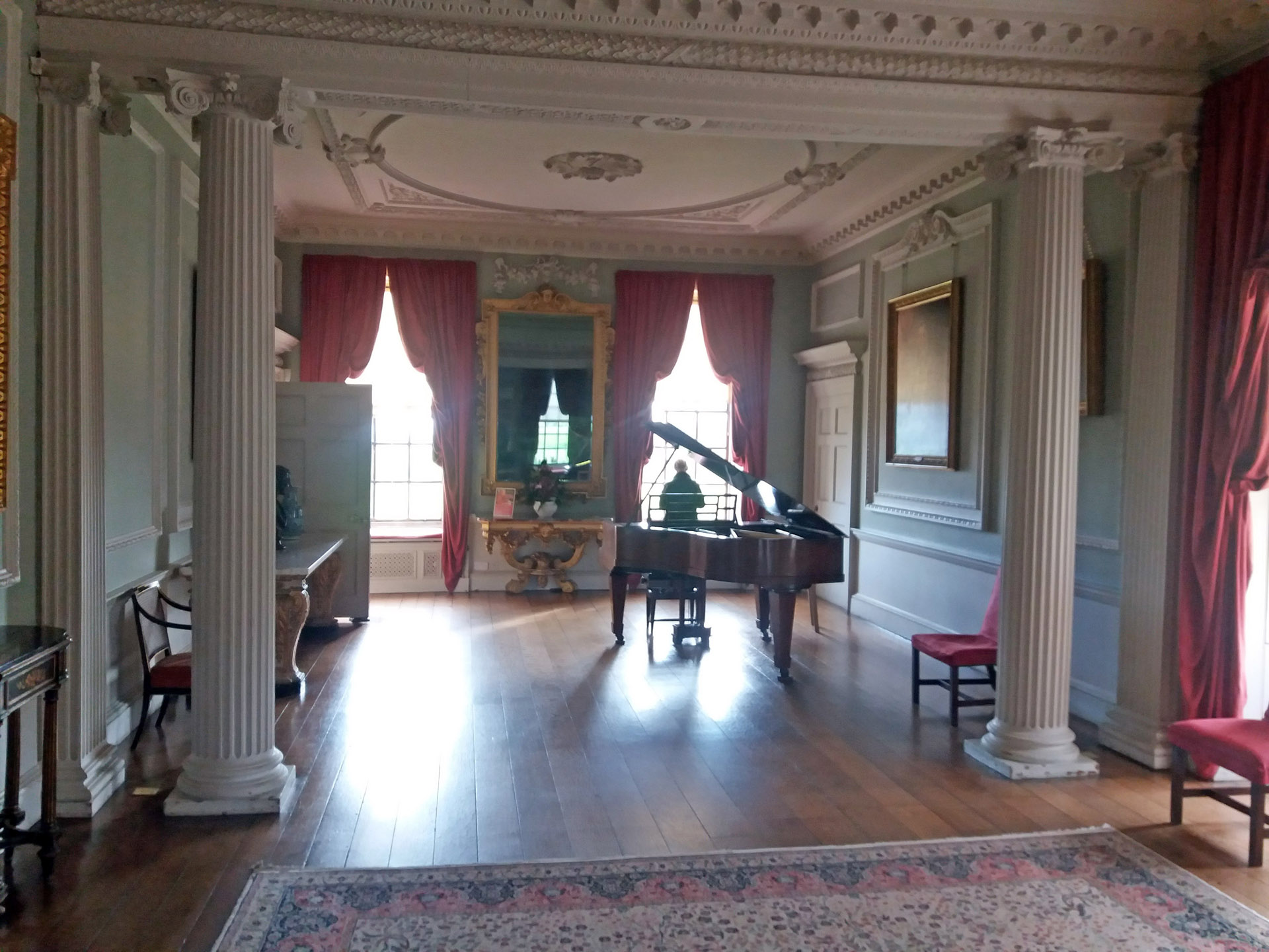 Wimpole Hall music room