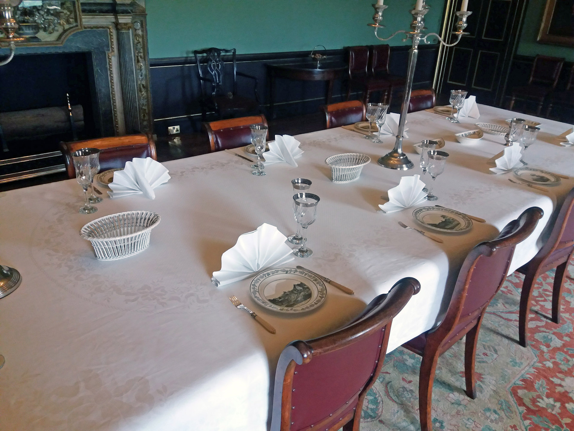 Wimpole Hall dining table