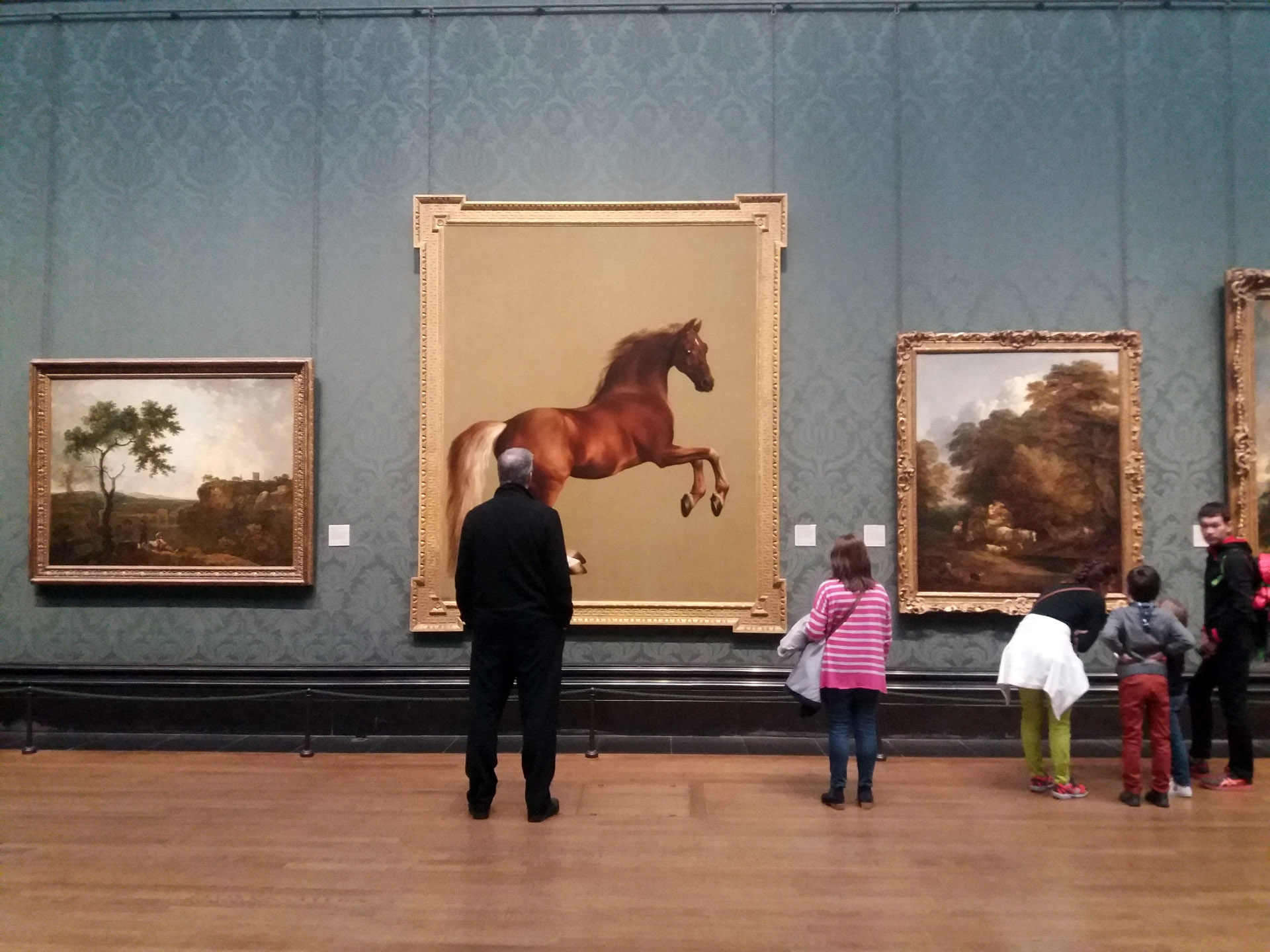 Whistlejacket 1762 Stubbs national gallery