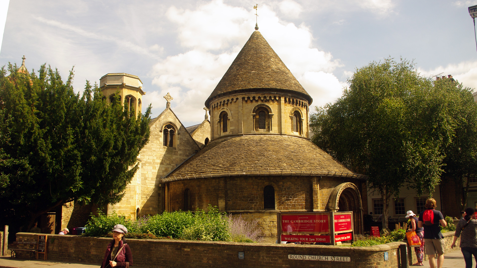 cambridge Church Holy Sepulchre Round Church founded 1130