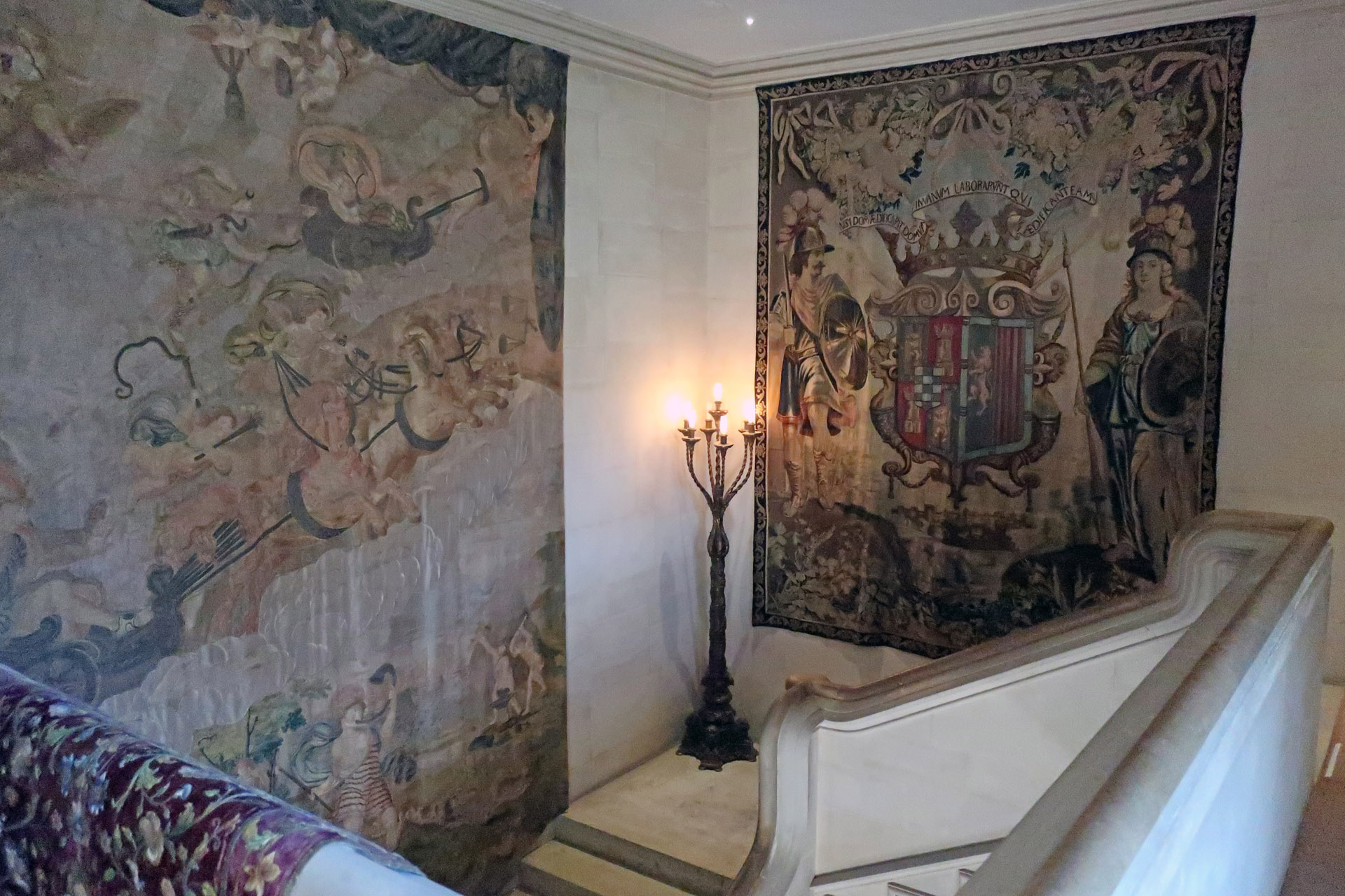 tapestries, anglesey abbey, cambridgeshire