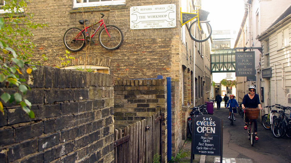 Bicycle hire and repairs