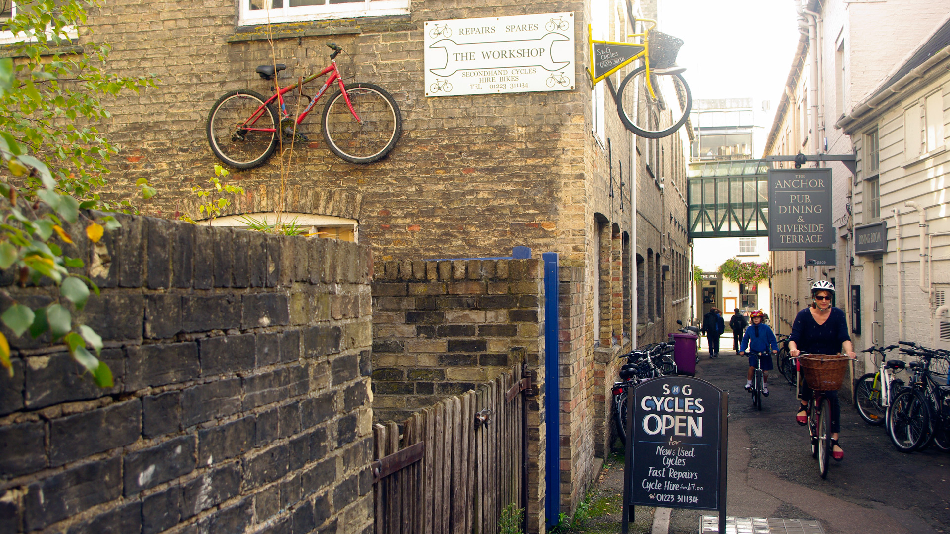 Bicycle hire and repairs - Cambridge