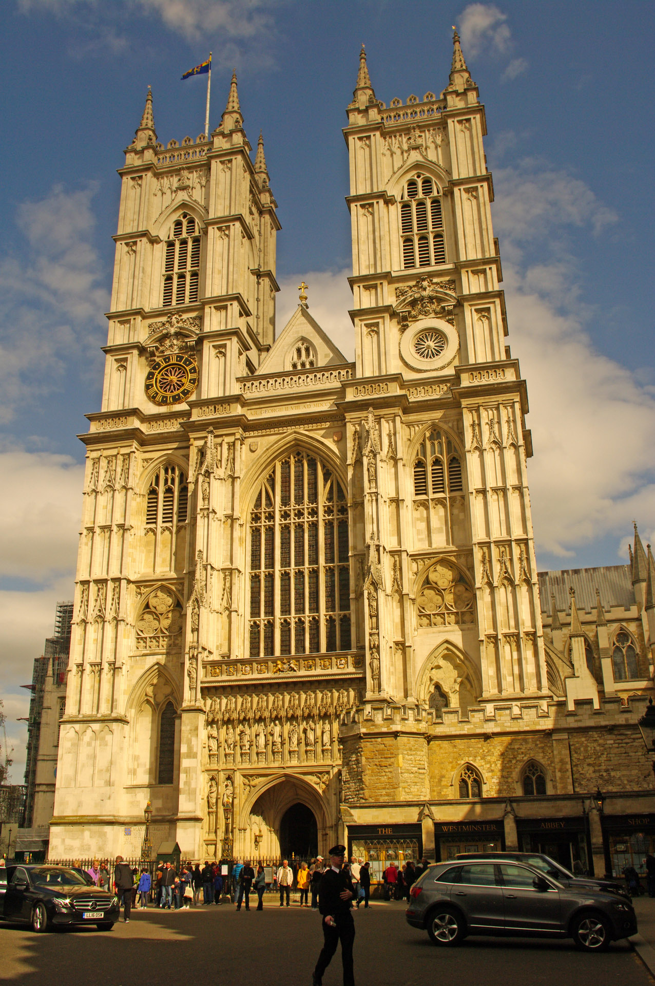 london Westminster Abbey Great West Door towers
